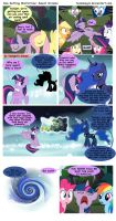 Sun Setting Misfortune MLP Comic: Sweet Dreams by teammagix