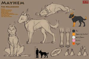 Mayhem Character Sheet v2 by kovah