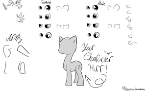 MLP FiM: OC Base Maker V2 by KillerBeen