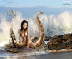 Woman octopus 1 by fueledbypartii by Showa93