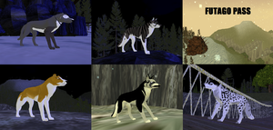 My Ginga presets in FERALHEART by ShibaSnowyNatural