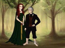 Ylondra and Bilbo by Colleen15