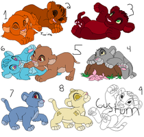 Lion Point Adopts by IceHeartTheWarrior