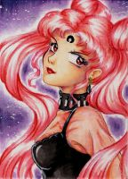 ACEO 49 - Black Lady by ann-chan20