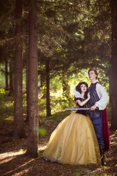 Snow White and Prince Disney Fairytale by KikoLondon