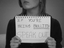 bullying - speak out. by GemmaZ