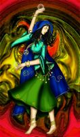 The Dance of a Gypsy by sphinxfalcon