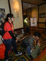 Anime Los Angeles 2015 Cover me! by Demon-Lord-Cosplay