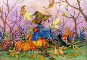 Witch's Companions-jbrommers by childrensillustrator