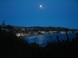 Laguna Beach, Night by TheVortex