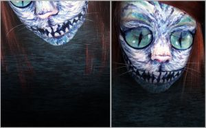 appearing cheshire cat by Magato