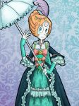 Rococo Pearl Coloured by WaterLily-Gems