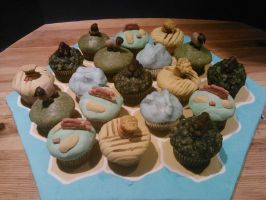 Cupcakes Of Catan by MomIsMean