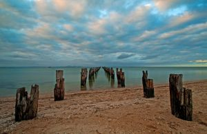 Clifton Springs Sunset by DanielleMiner