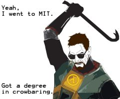 Gordon Freeman by juniorpewpew