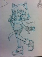 :CM: Sumire sketch by SWAG-Daddy