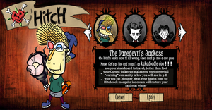 Dont Starve Hitch The Jackass by sixteen6stars