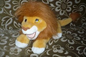 Adult Simba Plush Puppet by ZiraLovesScar