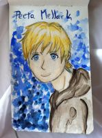 Peeta Mellark by HarlequinChild