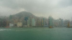 Hong Kong Island by flesheatingbug