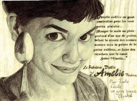 Amelie Poulain by Chantial