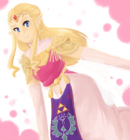 Princess Zelda by Gumwad201