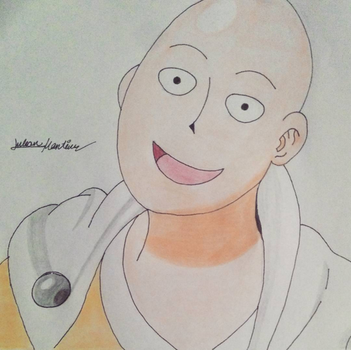 Saitama from One Punch Man by yahoo201027