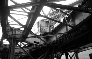 Chicago L XIV by DanielJButler