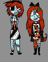 Skellington Kids by Shiva620