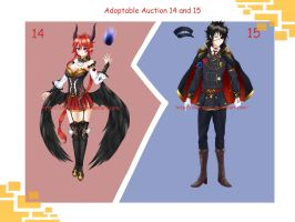Adoptable Auction 14-15(Closed) by chechoski