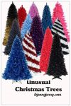 Free Unusual Christmas Trees PNG's plus Brushes by ibjennyjenny