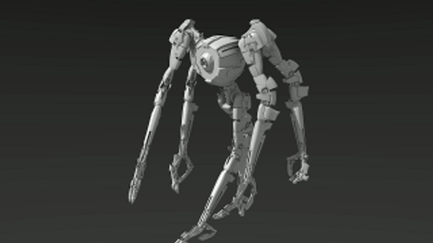 Tribot mk.2 Animated demo by EbonNebula
