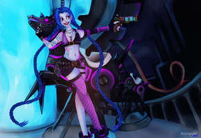 Jinx - The loose cannon by Jmsampaio