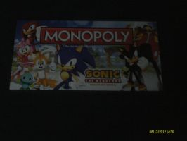 SONIC MONOPOLY by BlazetheCat1445