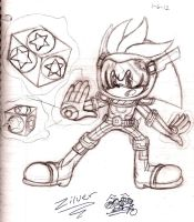 Zilver the Zone Cop by YASSDENSWH