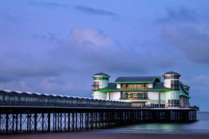 Weston super mere Pier by CharmingPhotography