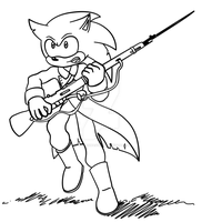 Darkness Falls - Mobian Hedgehog Trooper by calculusmaster