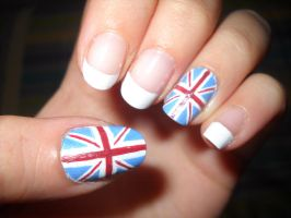 England Nails by dgippi4