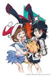 Kill la Kill cristmas by witch-hecate