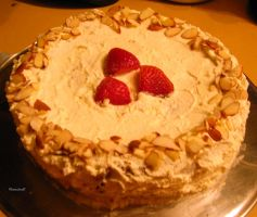 Almond and Cream Torte by rcmacdonald