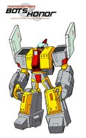 OMEGA SUPREME - ROBOT MODE by Bots-of-Honor