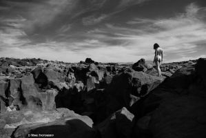 Fossil Falls by dwingephotography