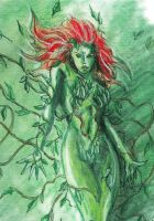 Poison Ivy Color by Graymalkin2112