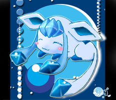 Glaceon by Effier-sxy