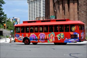Love tour bus by Flower-of-Grace