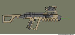 Sarariman PDW, caseless by Robbe25