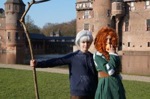 Jack Frost and Merida - EFF 2013 by MicheSpade