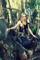 The throne of wood Skyrim by yume-chan05