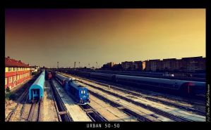 Urban 50-50 by mihaibrrrr