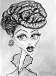 Lucille Ball Caricature by lotus73